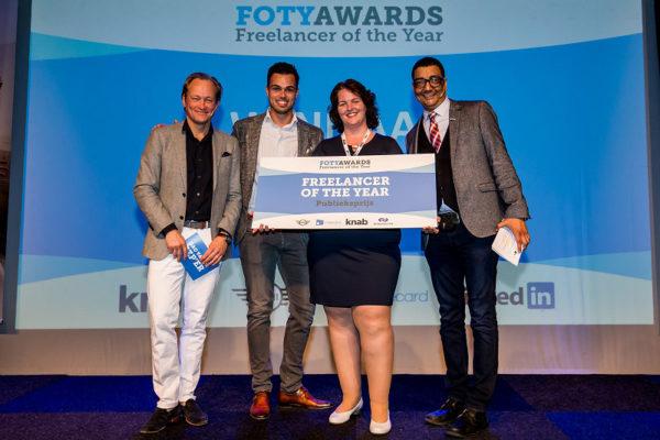 Winnaar FOTY Awards publieksprijs